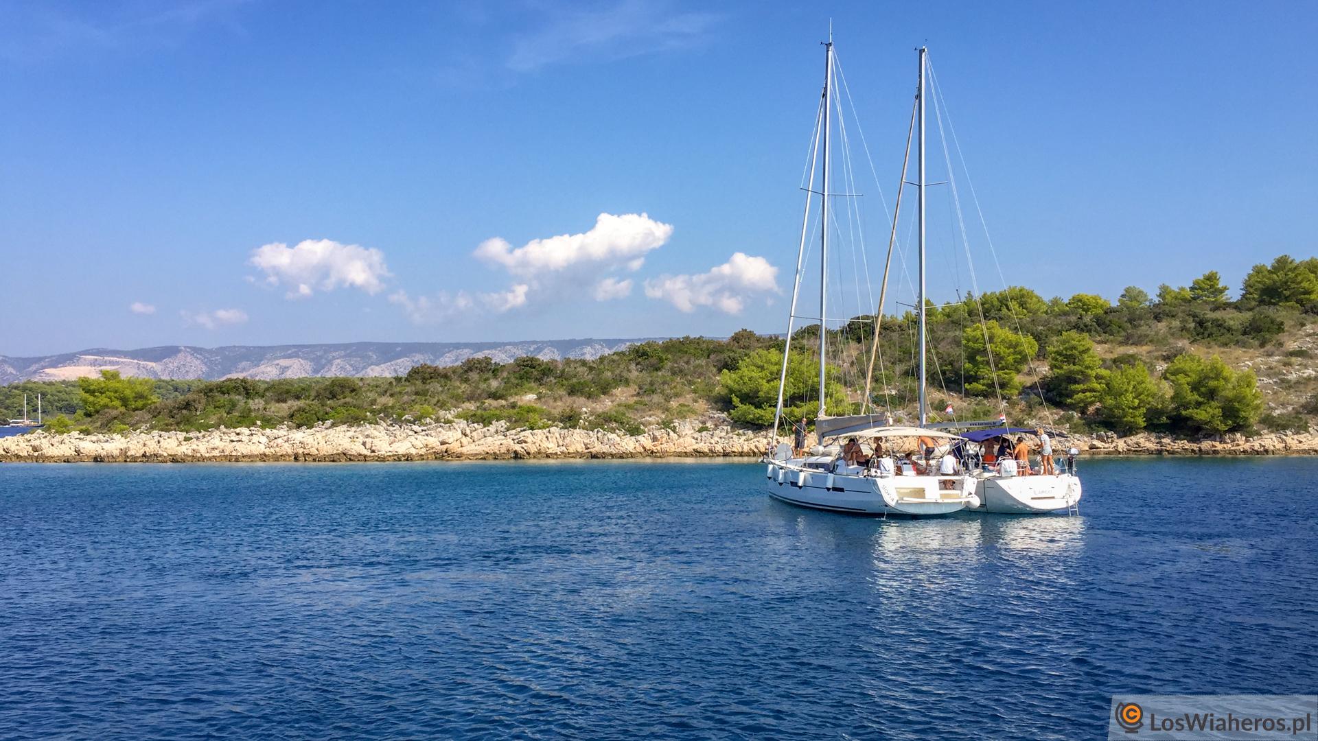 Czarter jachtu Chorwacja