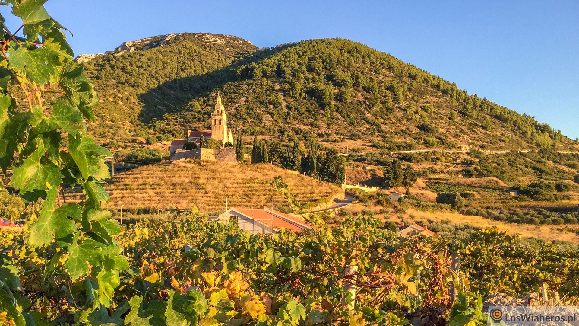 Chorwackie wyspy - Kościół św.Mikołaja - najlepsze miejsce napodziwianie zachodu słońca