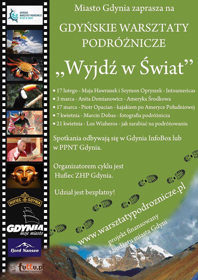 Gdynia - Jak zarabiać na podróżowaniu @ Sala Morska, Pomorski Park Naukowo-Technologiczny,Aleja Zwycięstwa 96/98