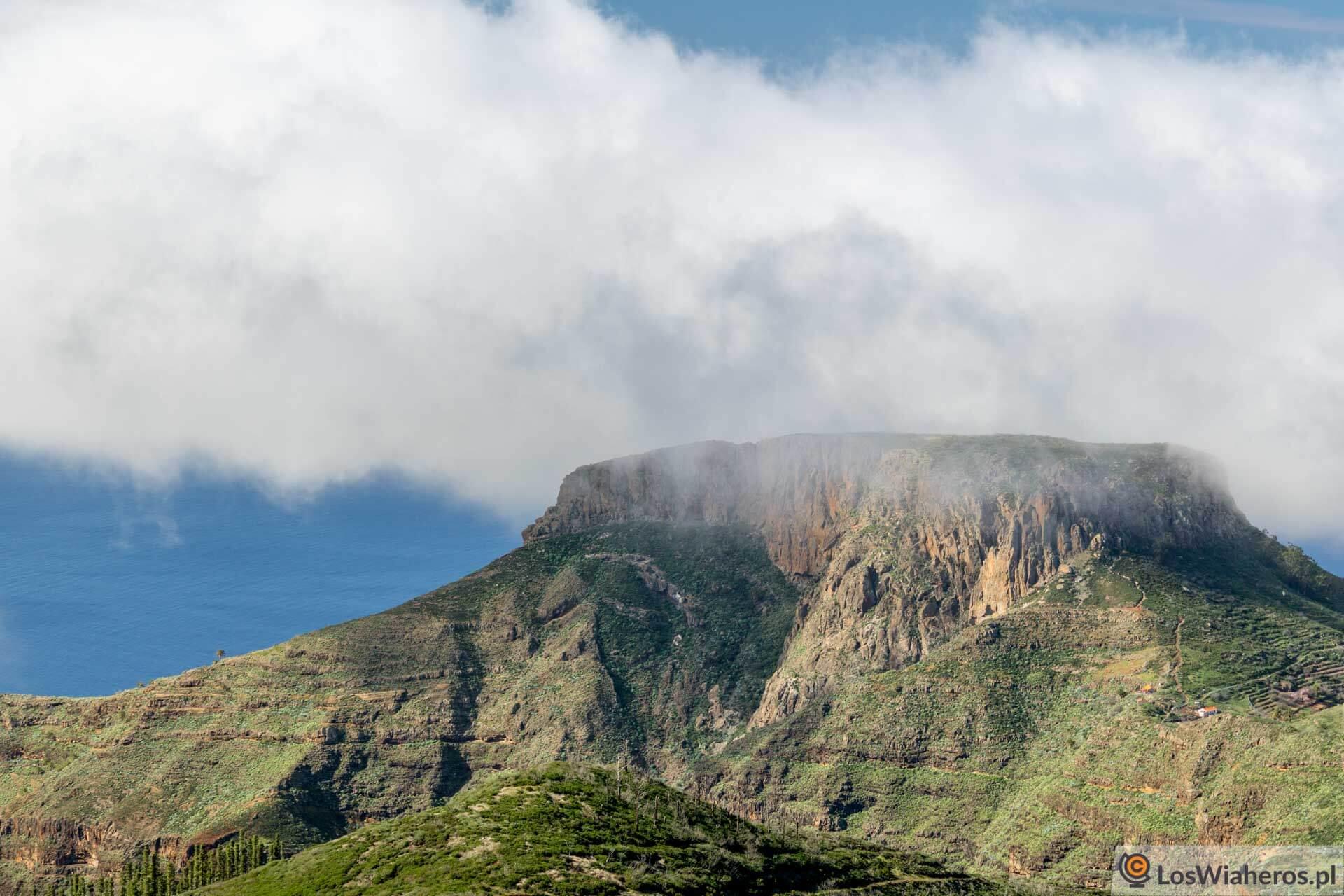 Wyspy Kanaryjskie, La Gomera, Chipude, Fortaleza