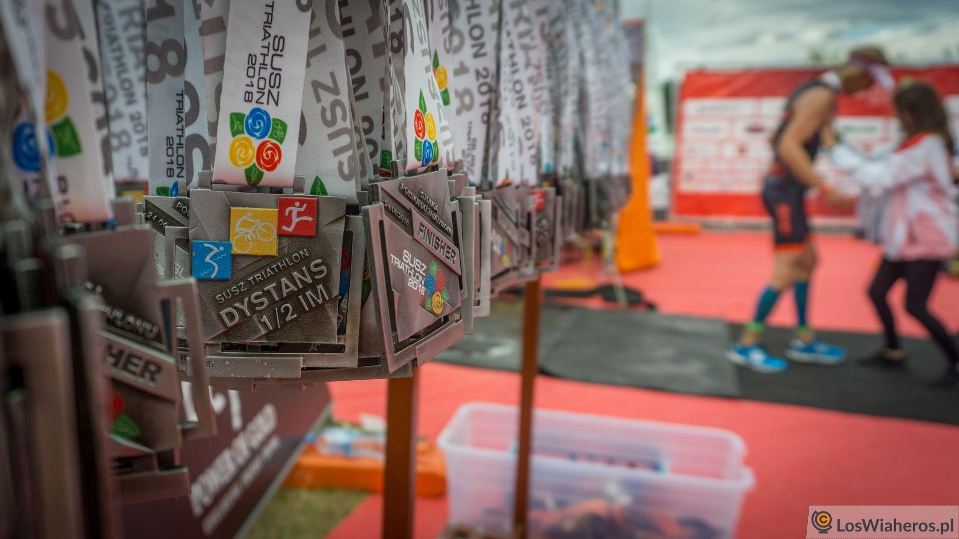 Pamiątkowe medale dla tych, którzydobiegli domety