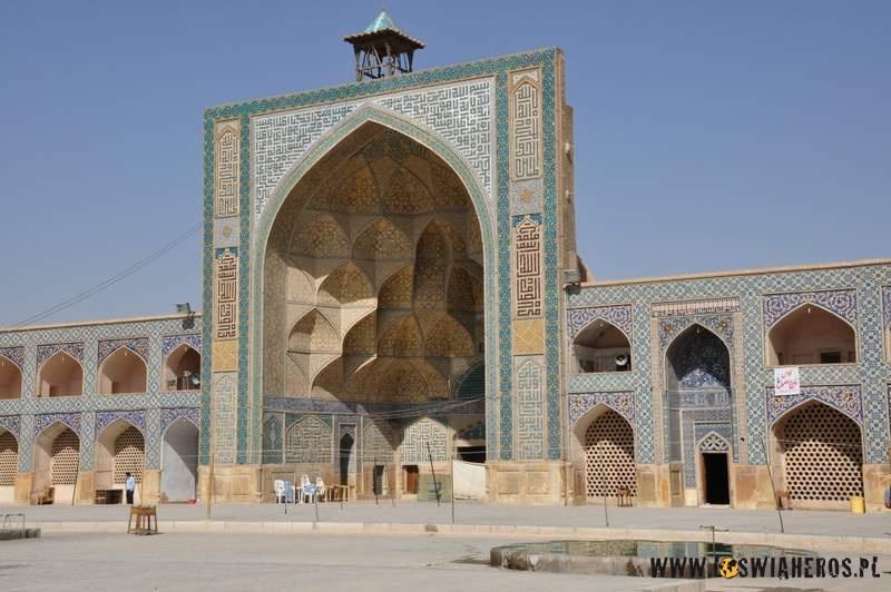 Meczet Jameh wEsfahanie.