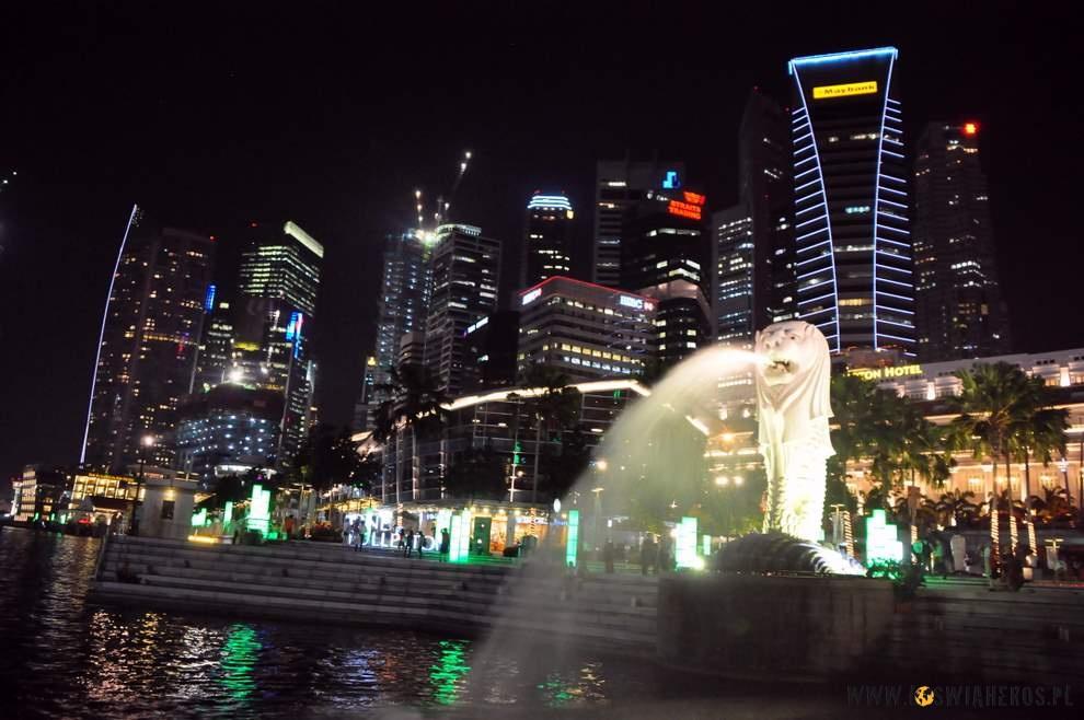 Merlion - symbol Singapuru.