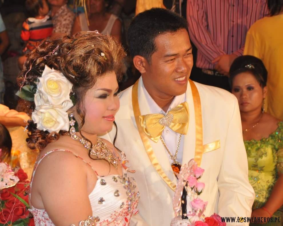 Kmerska młoda para.