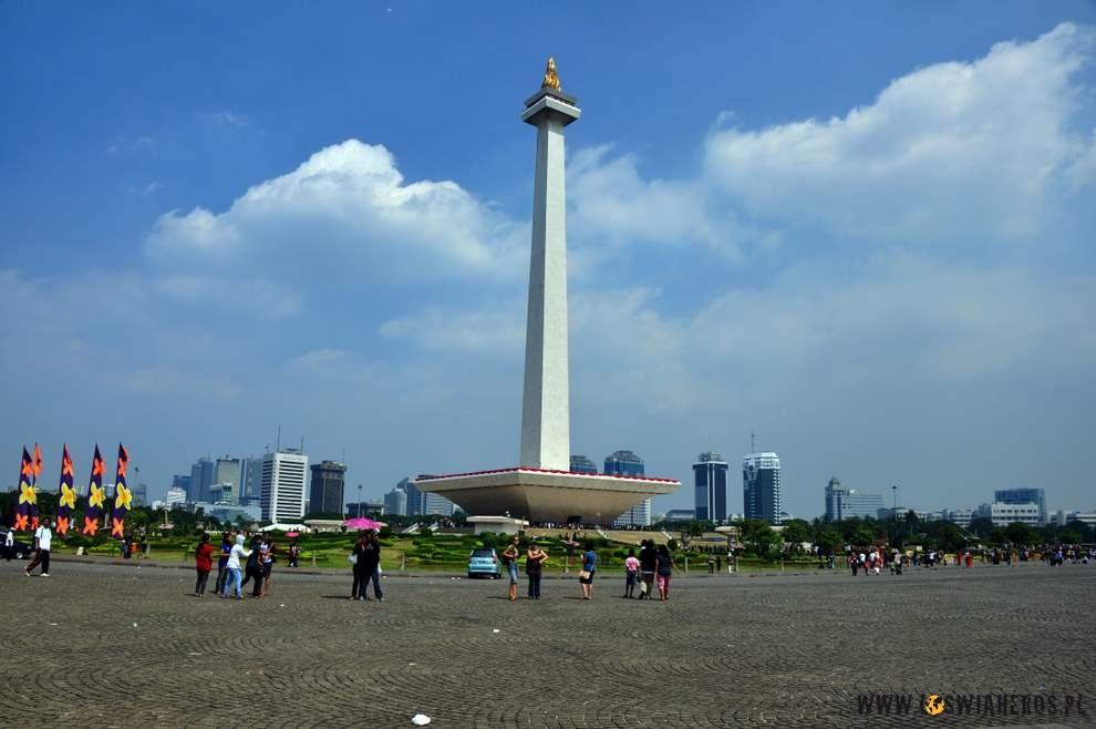 Monas - symbol Dżakarty