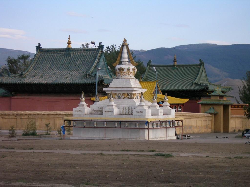 Stupa wUłan-Bator.