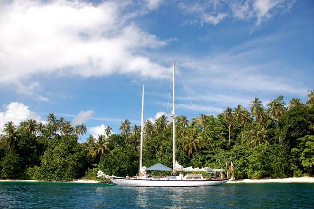 Jacht wPapui.