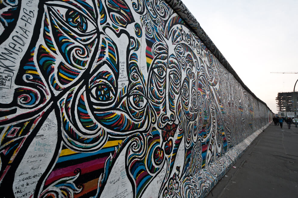 East Side Gallery - Mur Berliński