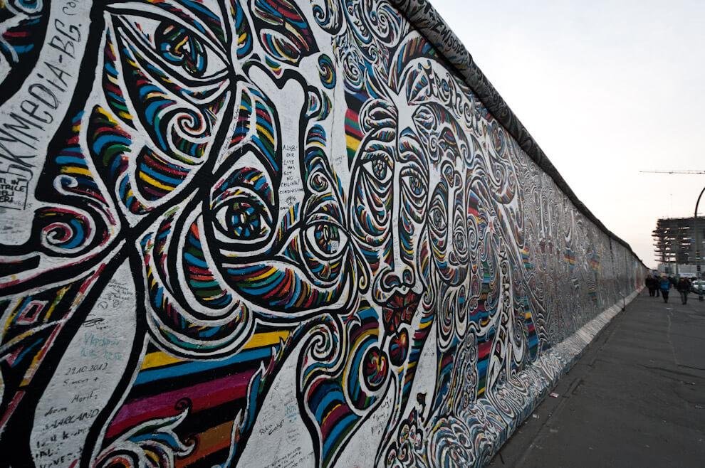 East Side Gallery - Mur Berliński
