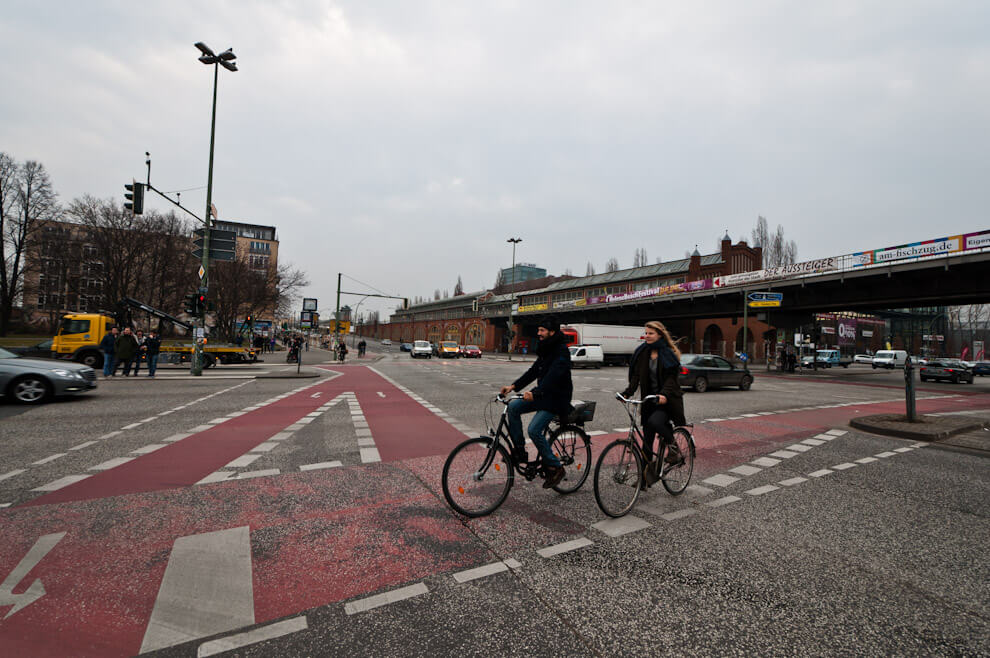 Trasy rowerowe w Berlinie.