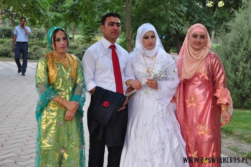 Nowożeńcy wKurdystanie