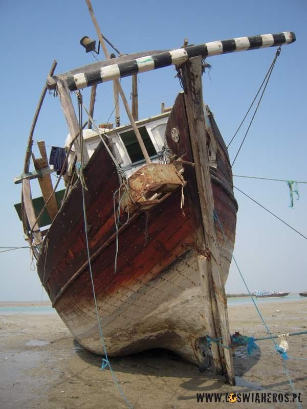 Odpłwy wmiejścowości Laft - Wyspa Qeshm