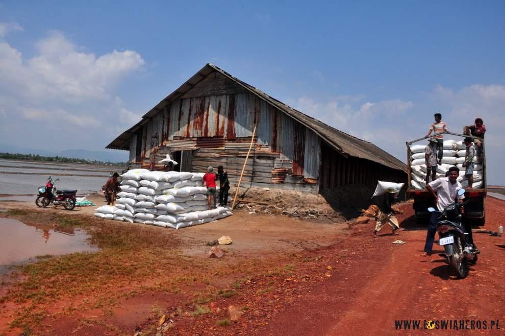 Kmerska wytwórnia soli.