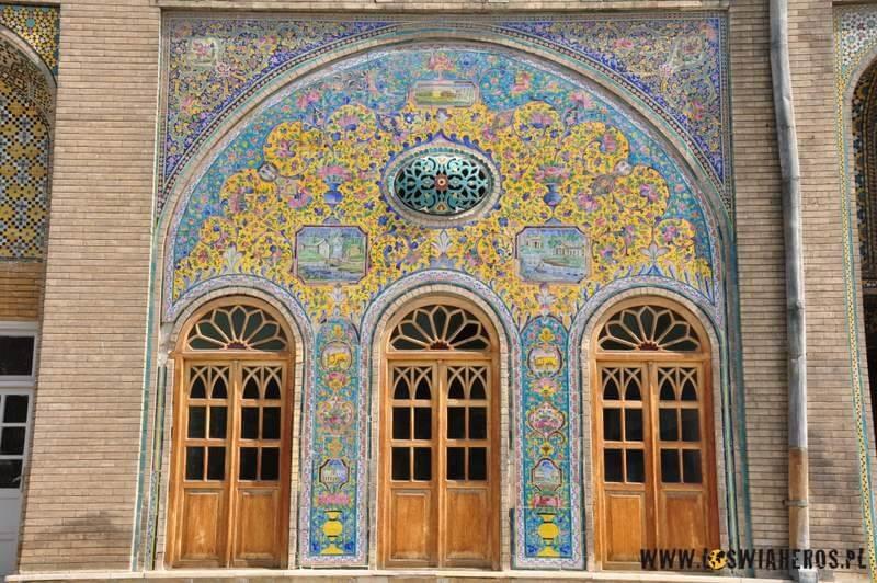 Meczet Imama Chomeiniego - niestety był zamknięty