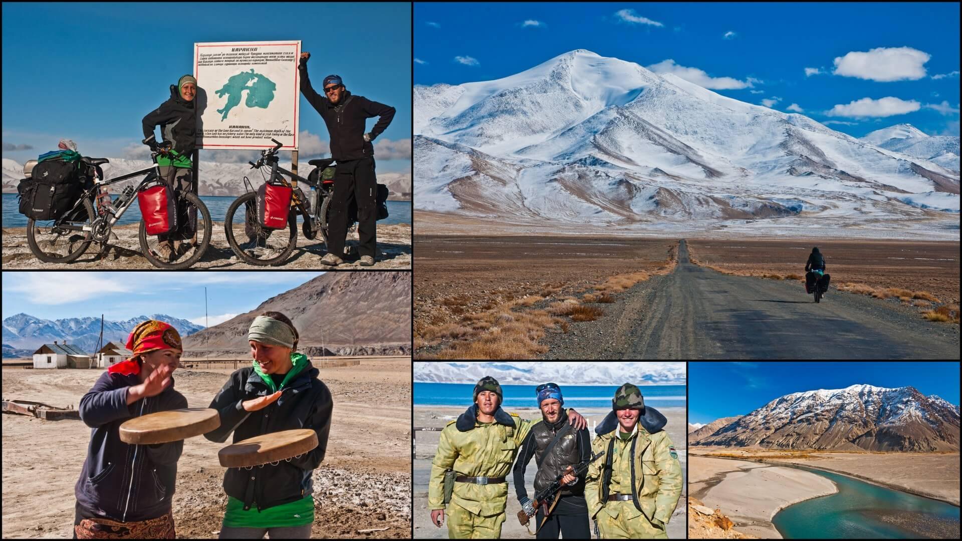Rowerem przez afgański i tadżycki Pamir.