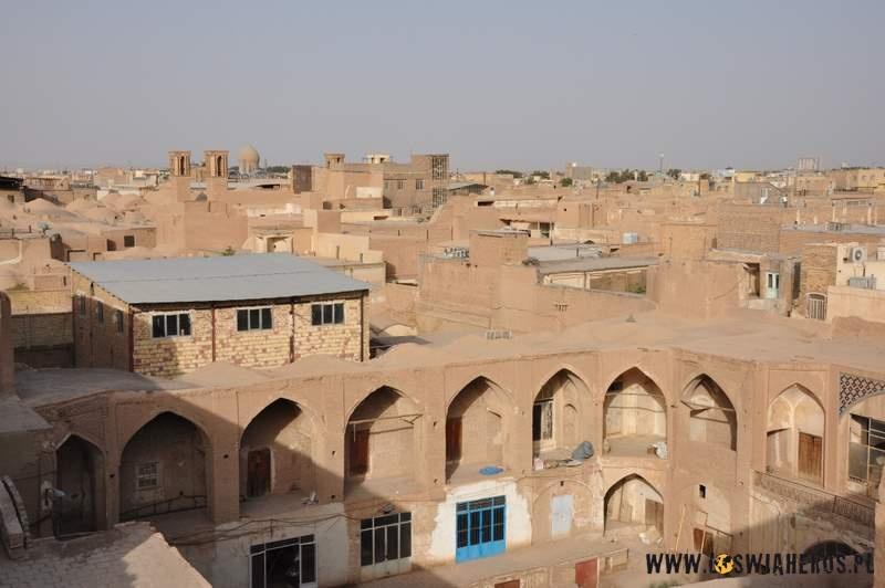 Panorama Kaszanu zdachu bazaru