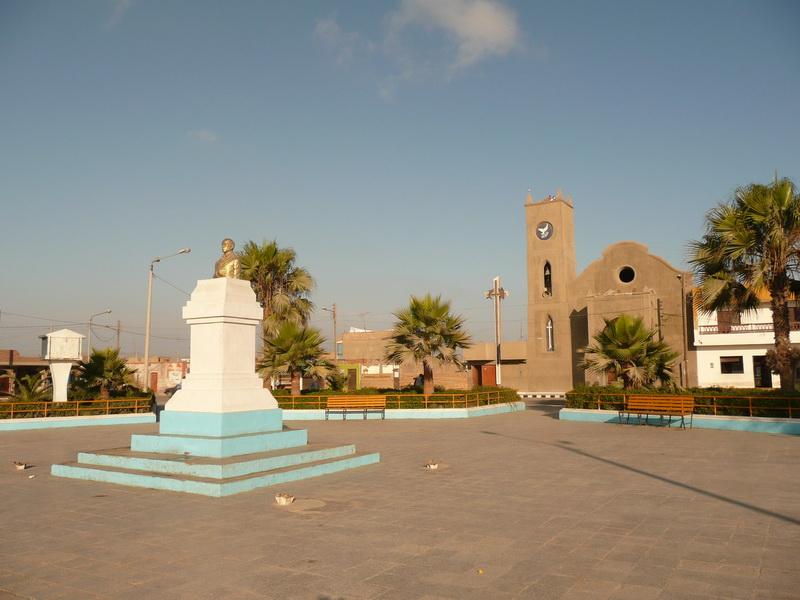 Plaza de Armas wPisco - centrum miasta.