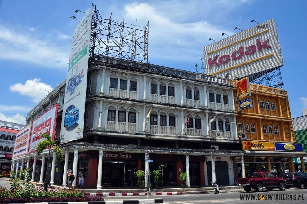 Centrum miasta Phuket.