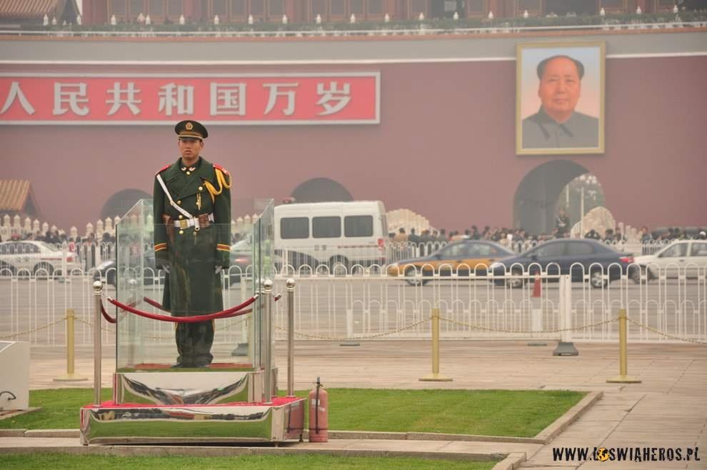 Plac Niebiańskiego Spokoju, Pekin.