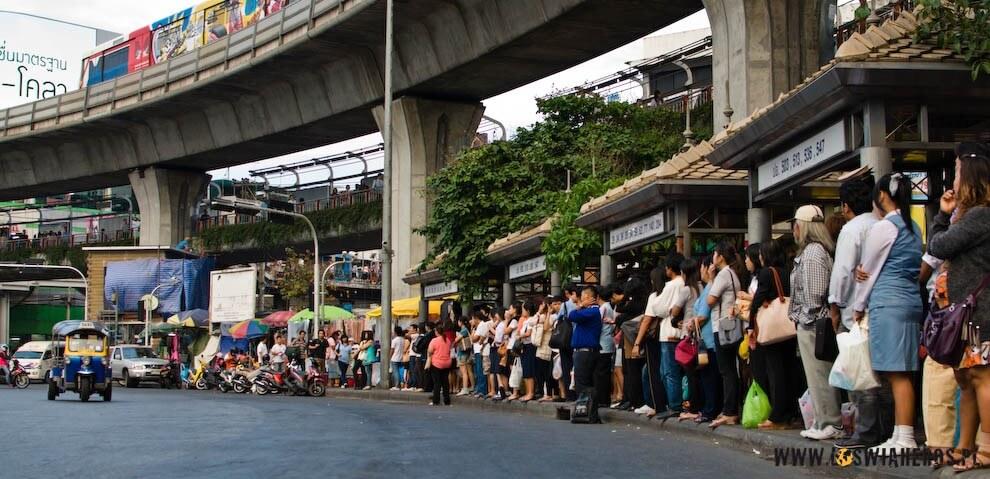 Przystanek wBangkoku