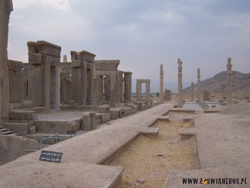 Ruiny miasta Persepolis