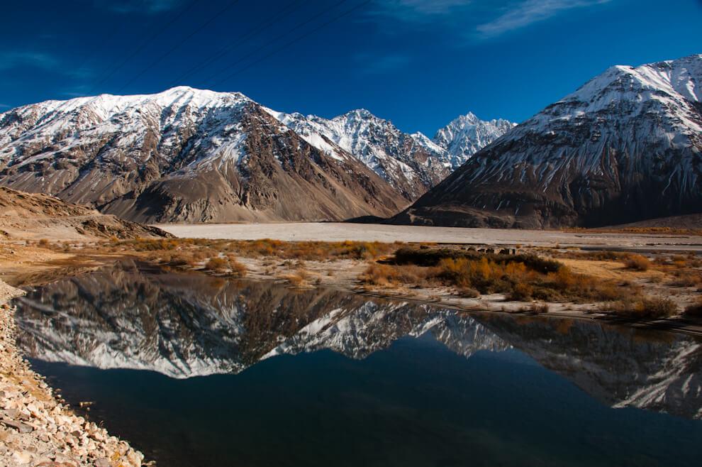 Rzeka Panj, apodrugiej stronie Afganistan