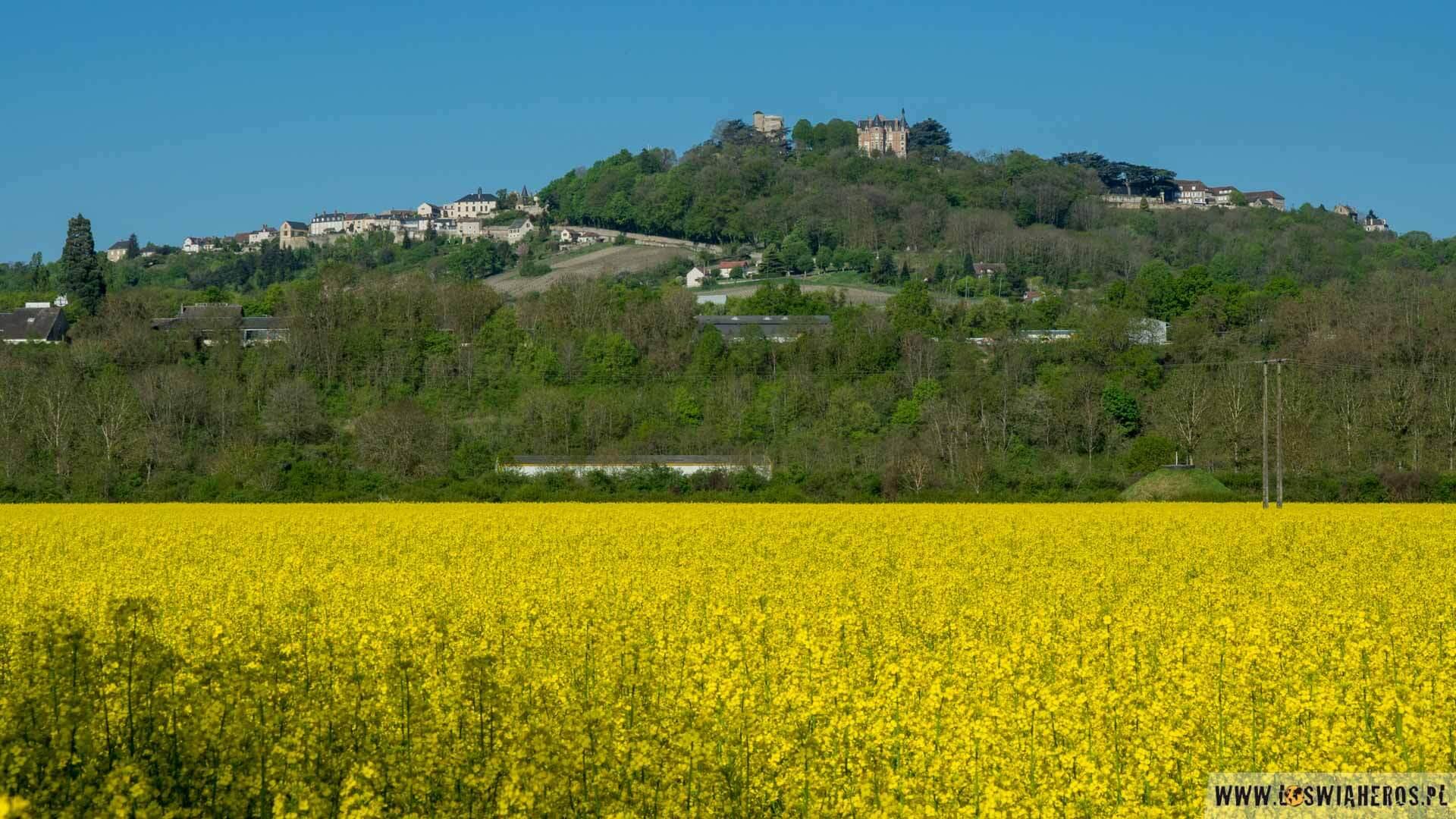 Wzgórze Sancerre słynie przede wszystkim ze smakowitego wina
