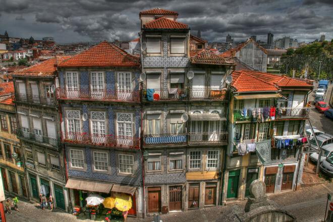Sandra Słomka, kamienice Porto.