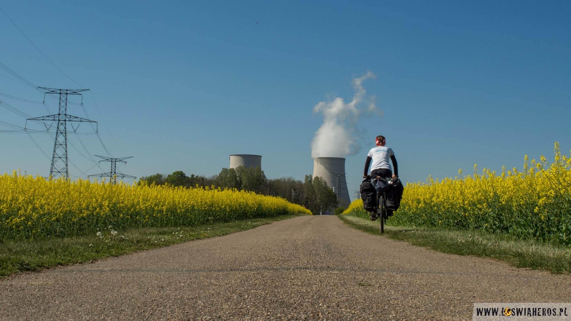 W drodze doelektrowni jądrowej wBelleville