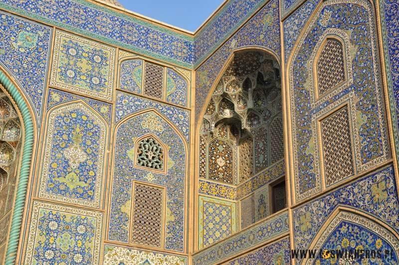 Sheikh Lotfollah Mosque w Esfahanie