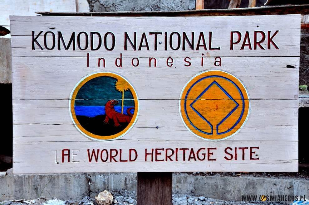 Park Narodowy Komodo, Indonezja.