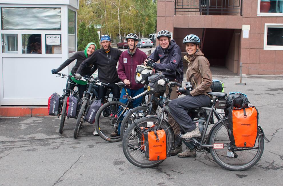 Warmshowers.org - internetowa społeczność rowerzystów z całego świata.
