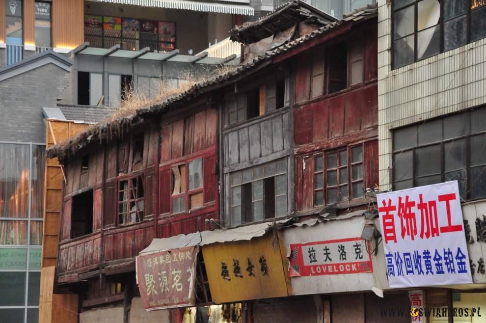 Stare oblicze Kunmingu, które powoli przemijają.