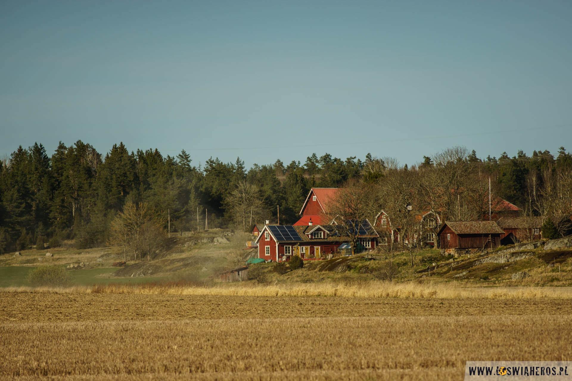 Szwecja trochę bardziej rolnicza.