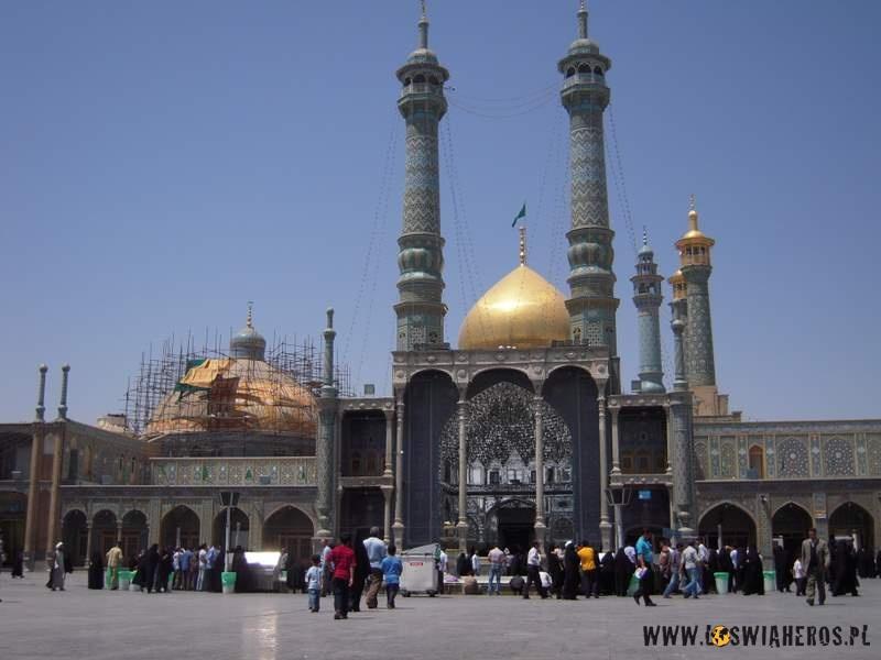 Świątynia Fatima al-Masumeh wQom