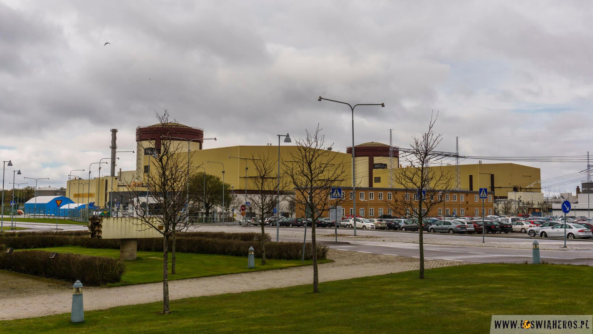 Budynki reaktorów elektrowni w Ringhals.