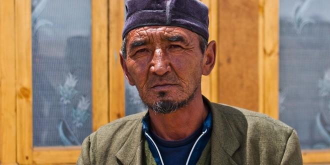 Tadżycki Kirgiz z wioski Karakul.