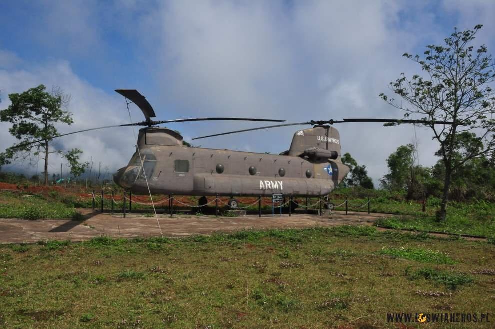 Transportowiec US Army - wbazie Khe Sanh, Wietnam
