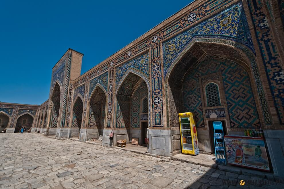 Sklepiki dla turystów wmedresach - Samarkanda.