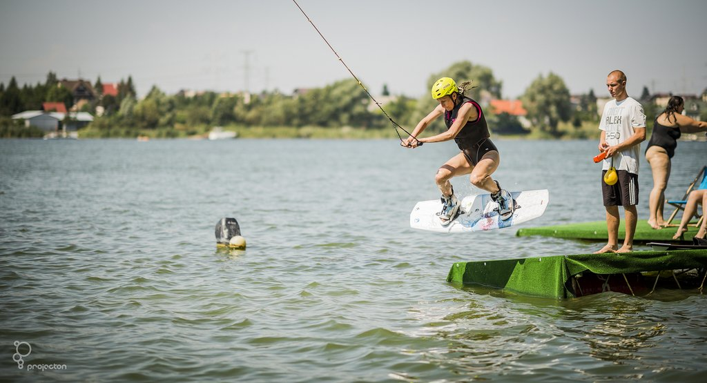 Wakeboard - start wprost z rampy!