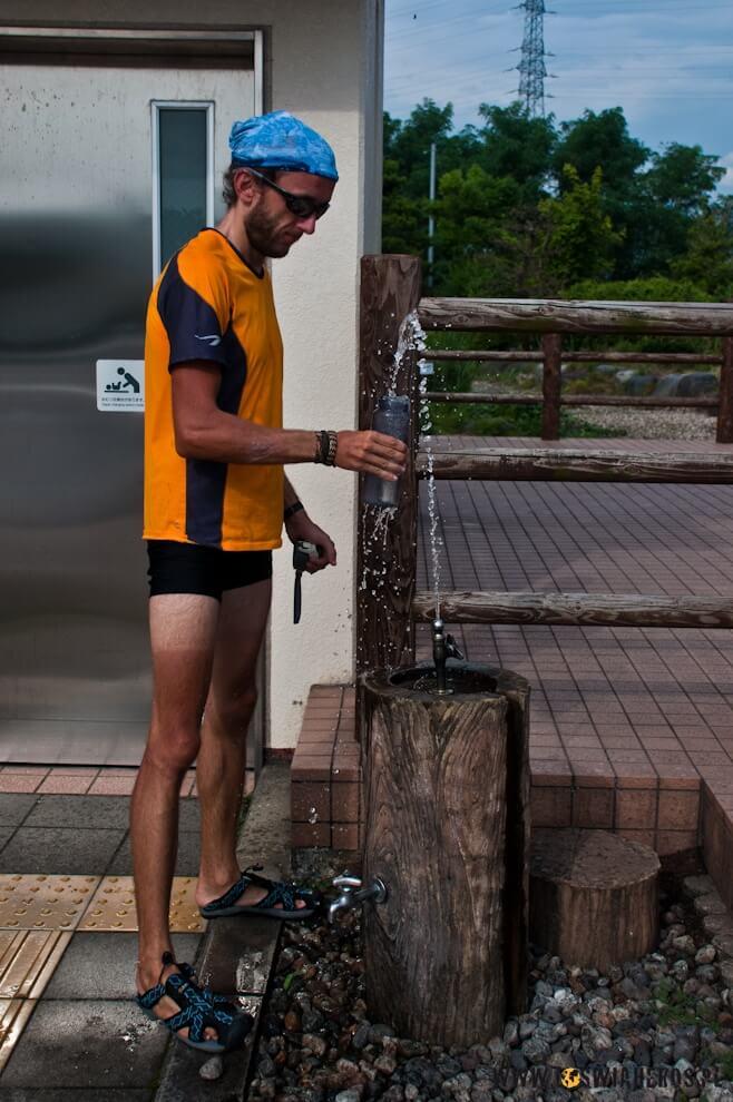 Wodna pitna jest wJaponii nakażdym kroku.