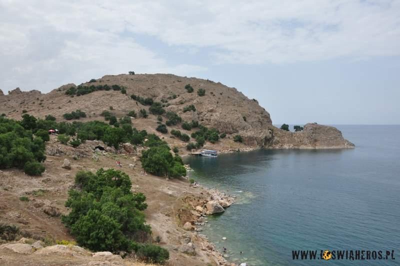 Wyspa ikosciol ormianski - Akdamar naJeziorze Van