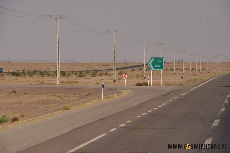 Zjazdy z autostrady w lewo - Iran