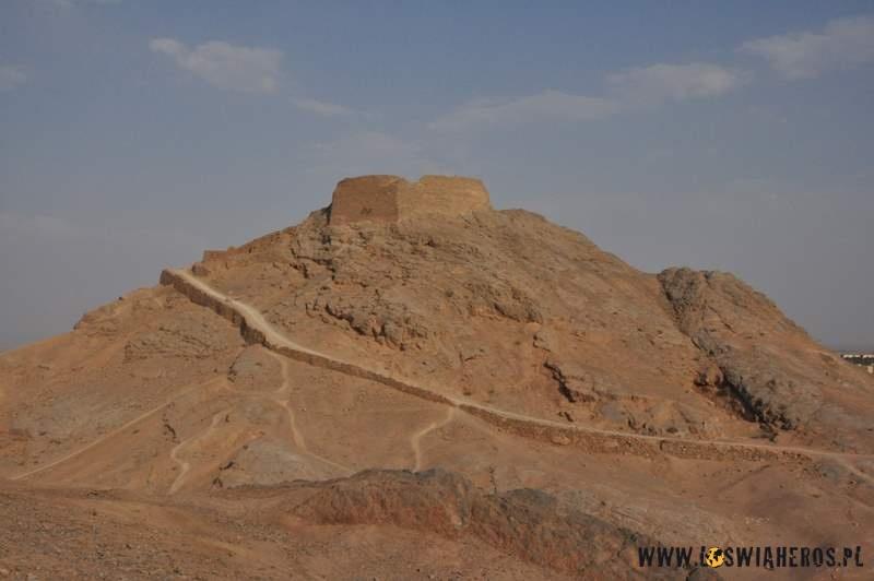 Zoroastraińskie Wieże Milczenia - Yazd